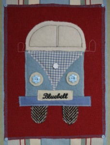 Bluebell the camper van - detail