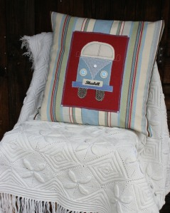 Bluebell the camper van cushion