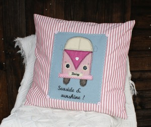 Daisy the camper van cushion