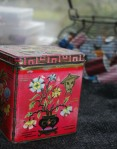 Aunt B's old tea caddy
