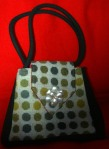 Olive and Sage tweed bag