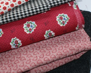 Stack of fabrics - just waiting!