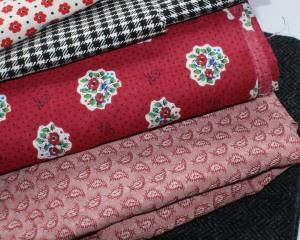 Stack of fabrics - just waiting!