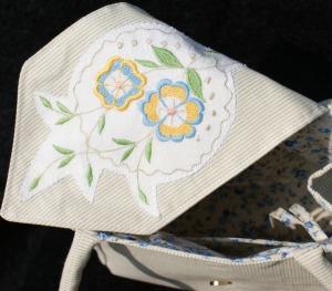 Inside 'Cherie' handbag