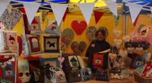 Adaliza at the Art Market