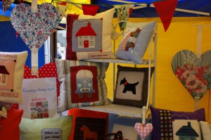Cushions on my stall