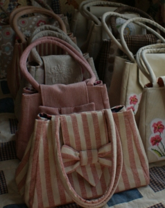 Spring bags - all lined up