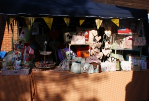 My stall today