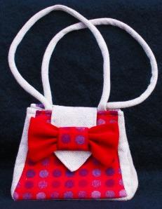 Gwendolyn - pure wool bag