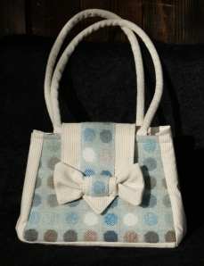 Pure New Wool handmade handbag