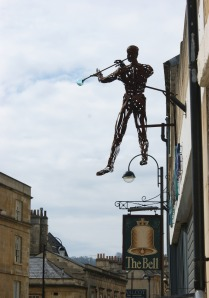 Glass blower in Bath