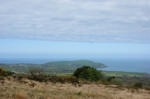 Looking out over the Irish Sea