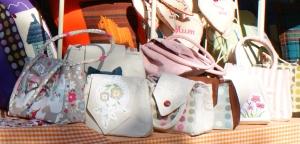 Handbags in the sunshine