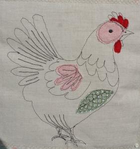Lucille - the chicken!
