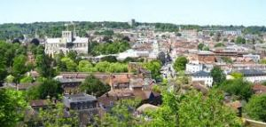 View from St Giles Hill