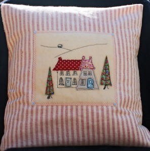 Little Houses cushion