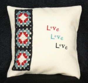Love Love Love Cushion