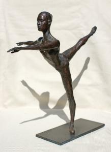 Robert Truscott bronze of Anna Chernakova