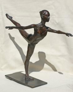 Robert Truscott Bronze of Olga Chernikova