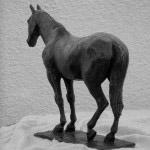 Robert Truscott bronze horse