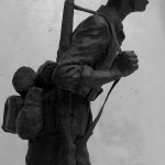 Robert Truscott - Bronze soldier