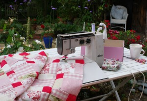 Sunshine & sewing
