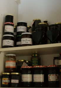 In the cupboard