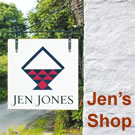 Jen Jones Llanybyther shop