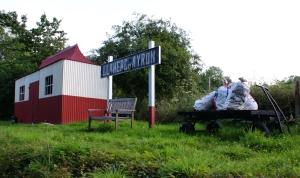 Llanaerchaeron Station
