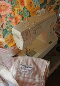 Mavis' first quilt