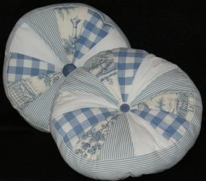 Wedgwood Blue Pinwheels