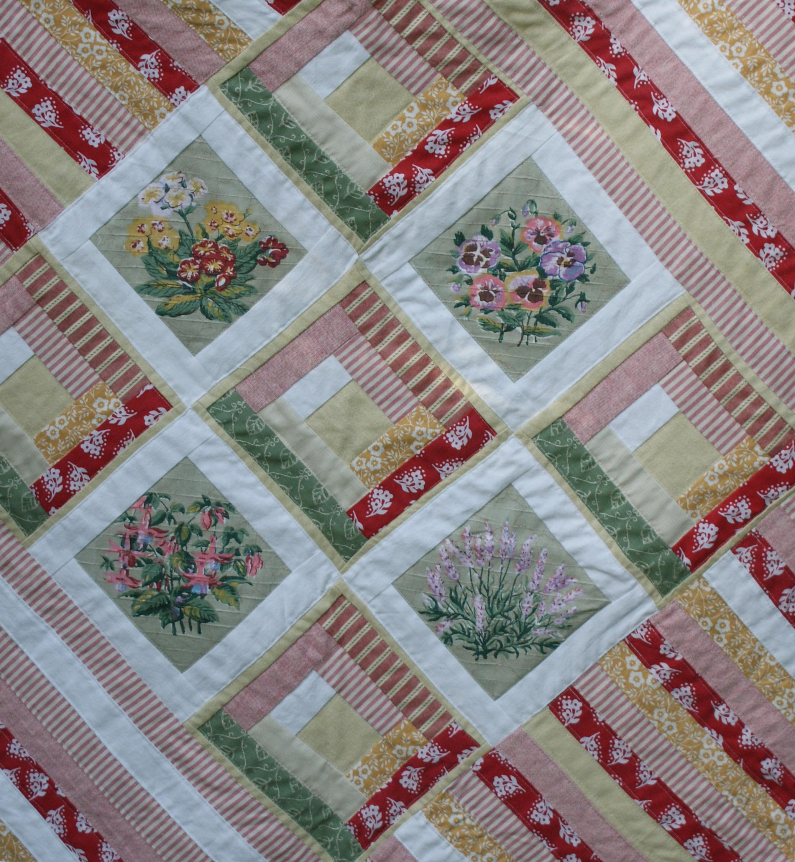 Patchwork Quilt Handmade Monday Adaliza