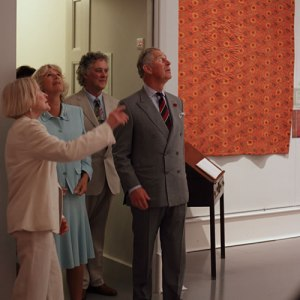 Opening of The Welsh Quilt Exhibition 2010