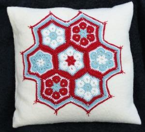 Hexi cushion