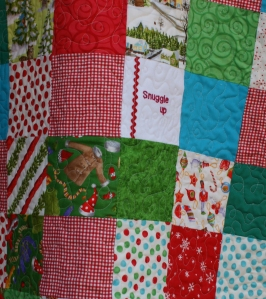 Snowy Days quilt