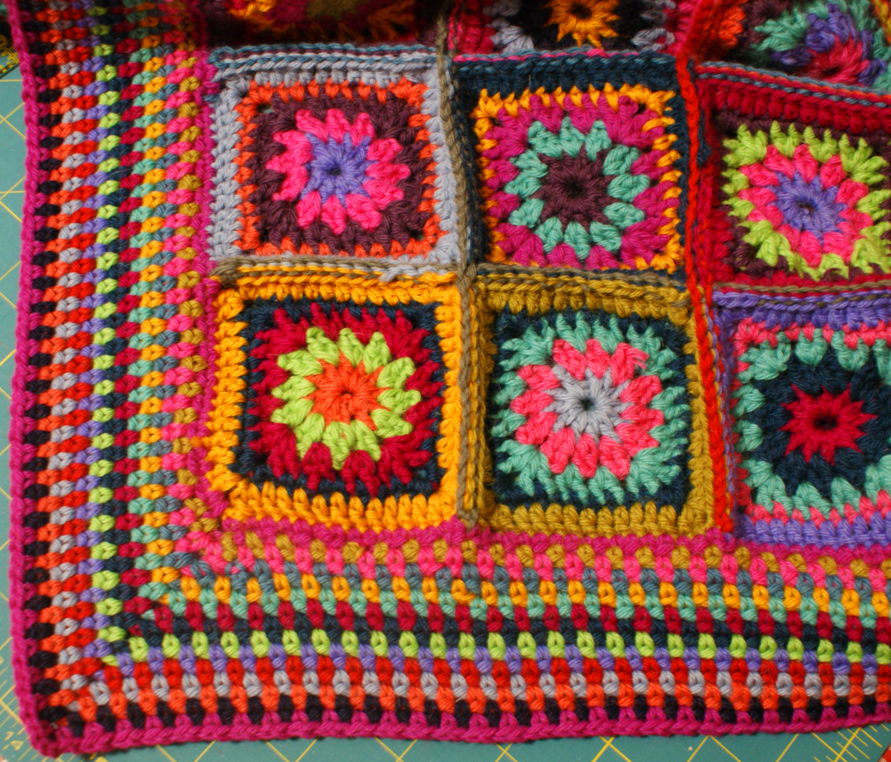Misty Morning granny square crochet blanket   Adaliza