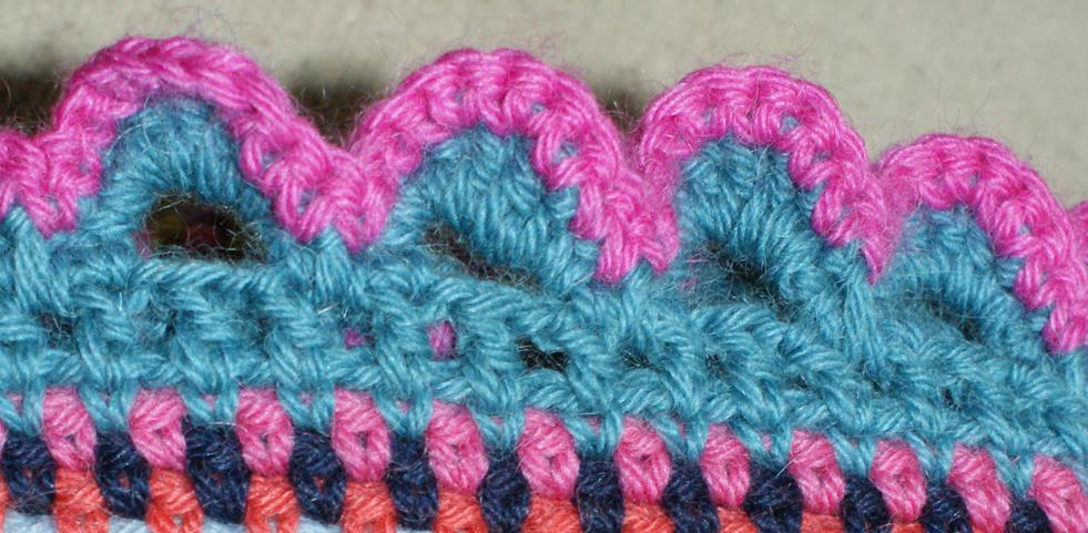 Shell Border Crochet Tutorial Adaliza