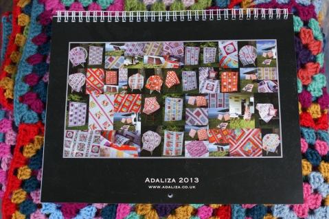 Adaliza 2013 Calendar
