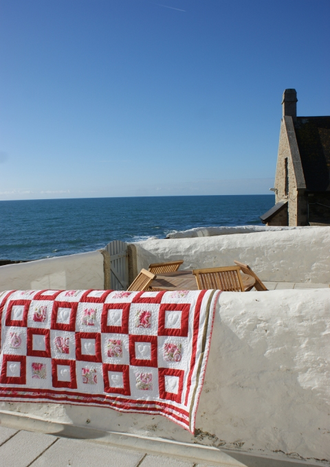 A perfect quilt for a cosy seaside cottage