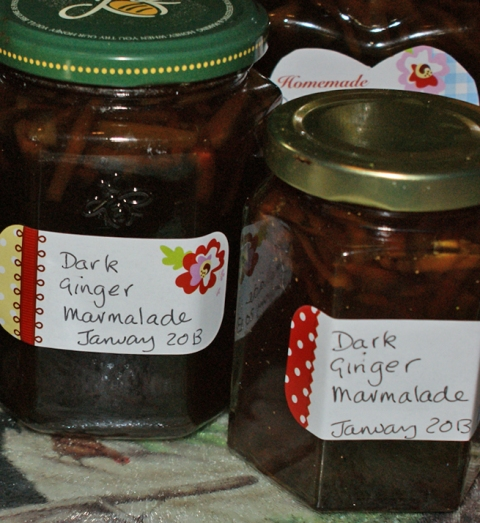 Ten bottles of marmalade!