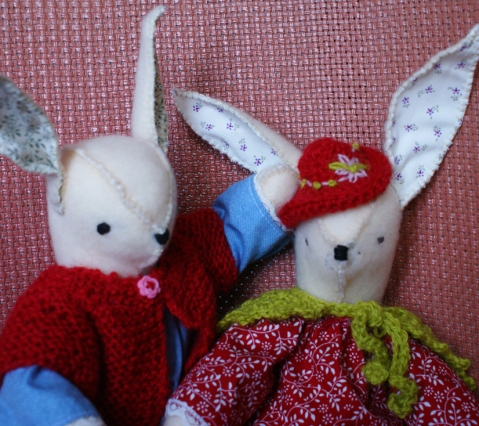 'Of course you can try on my hat!  That ear of yours is just so floppy!'