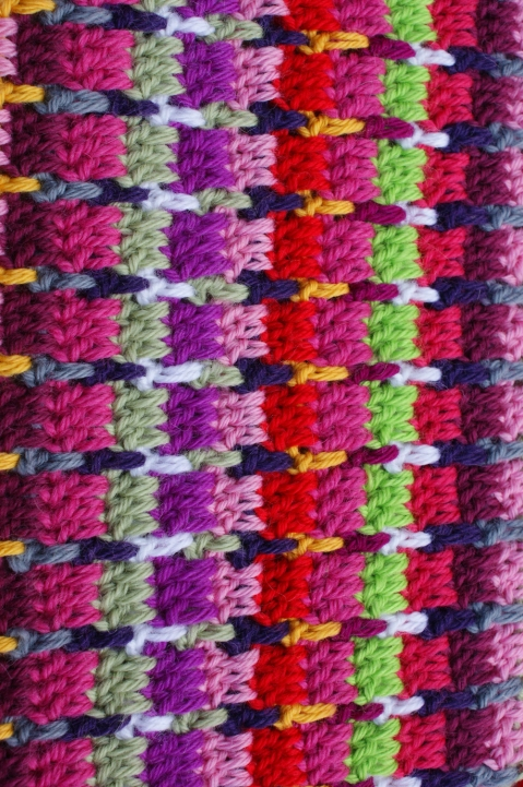 crochet: tweed stitch