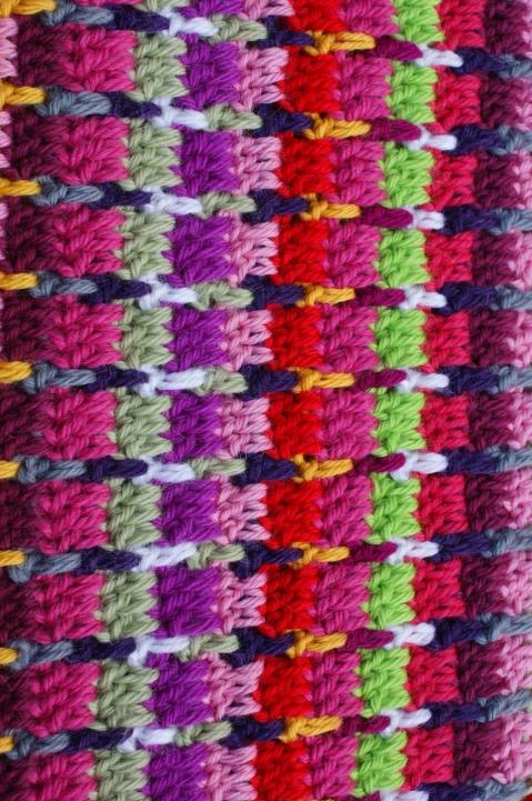 crochet: tweed stitch