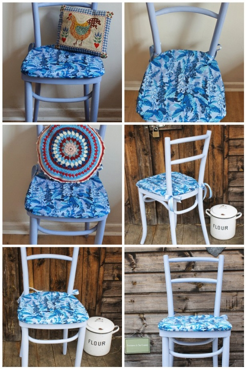 Sitting Pretty - bentwood chair revamped