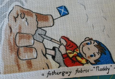 Vintage Noddy cushions