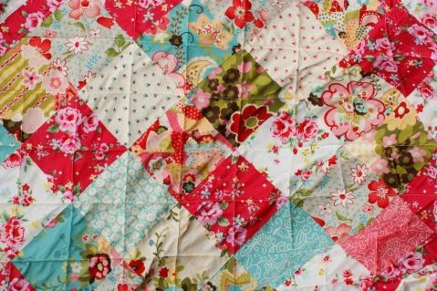September Flowers quilt