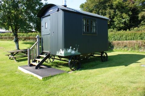 Sherpherd's Hut at Harford Farm