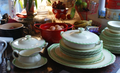 vintage china, purchased yesterday
