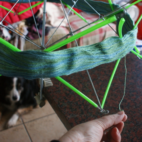 a yarn swift