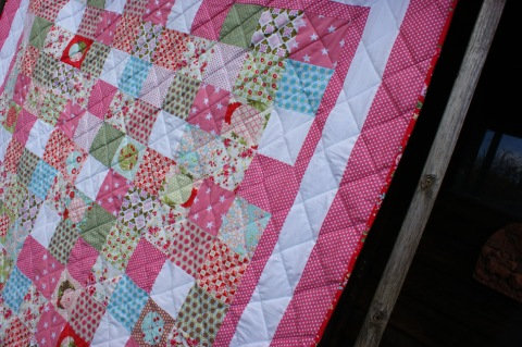 Patchwork Quilt by Adaliza